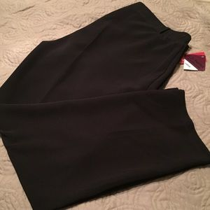 NWT C.D. Petites black dress slacks/pants